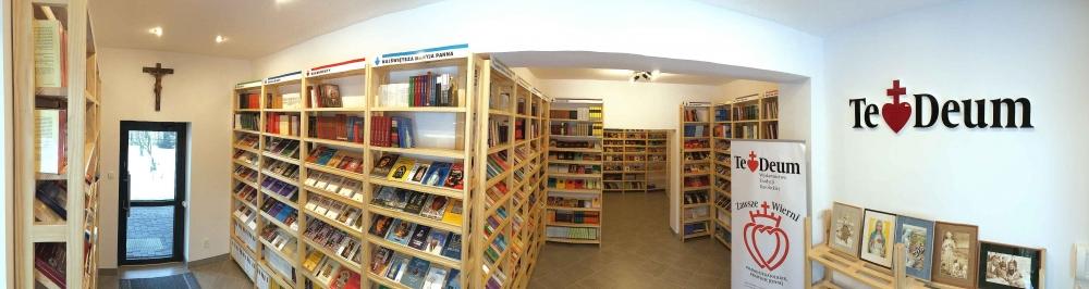 panorama nowej księgarni