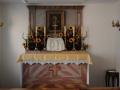 Ołtarz w kaplicy domowej przeoratu