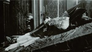 Papież św. Pius X na marach