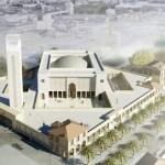 Projekt meczetu w Marsylii, którego budowę rozpoczęto w 2011r. Będzie to największy meczet na terenie Francji