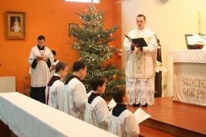 Przyjęcie nowego ministranta do Archikonfraterni Św. Szczepana