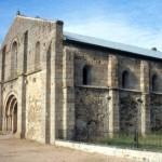 Kościół klasztorny w Bellaigue, gdzie bp. Fellay przyjął abiuratio archimandryty Bogoridi-Livena