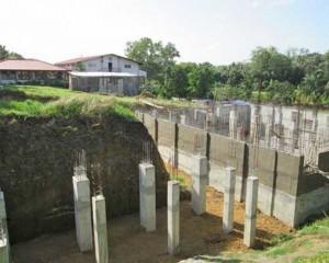 Budowa kościoła pw. Niepokalanego Serca w Iloilo na Filipinach
