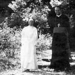 Matka Maria Franciszka Dupouy i bp Bernard Fellay FSSPX