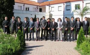 Uczestnicy kursu humanistycznego w seminarium FSSPX w La Reja w Argentynie