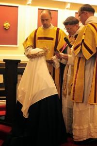 Uroczystość przyjęcia do nowicjatu sióstr dominikanek z Wanganui