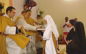 Obłóczyny pierwszej z sióstr Zgromadzenia Misjonarek Jezusa i Maryi