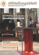 Mitteilungsblatt der Priesterbruderschaft St. Pius X - biuletyn niemieckiego dystryktu FSSPX