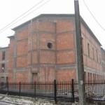 Nowo powstający budynek gimnazjum pw. św. Tomasza z Akwinu