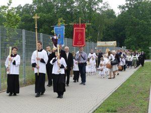 Procesja Bożego Ciała w Poznaniu