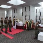 Ks. Łukasz Szydłowski celebruje Mszę św. za dusze Żołnierzy Niezłomnych