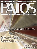 Okładka czasopisma PATOS, którego wydawcą jest Samorząd Studencki Uniwersytetu Jana Pawła II w Krakowie