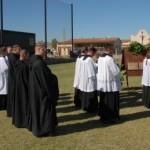 W uroczystościach wzięli udział również benedyktyni z Silver Creek