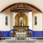 Prezbiterium przyszłej świątyni