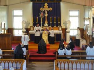 Dominikanki z Wanganui składają profesje zakonne