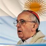 Kard. Jerzy Bergoglio, dotychczasowy metropolita Buenos Aires, nowo wybrany papież Franciszek