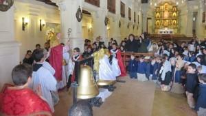 Poświęcenie dzwonów dla kościoła seminaryjnego