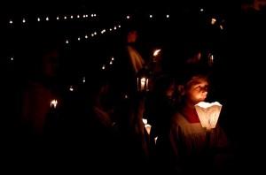 Procesja ku czci Matki Bożej w Domezain-