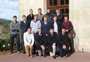 Nowi seminarzyści we Flavigny